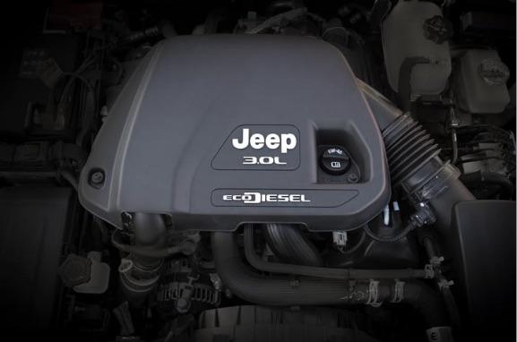 Jeep Wrangler ahora ofrece un motor V6 Ecodiesel