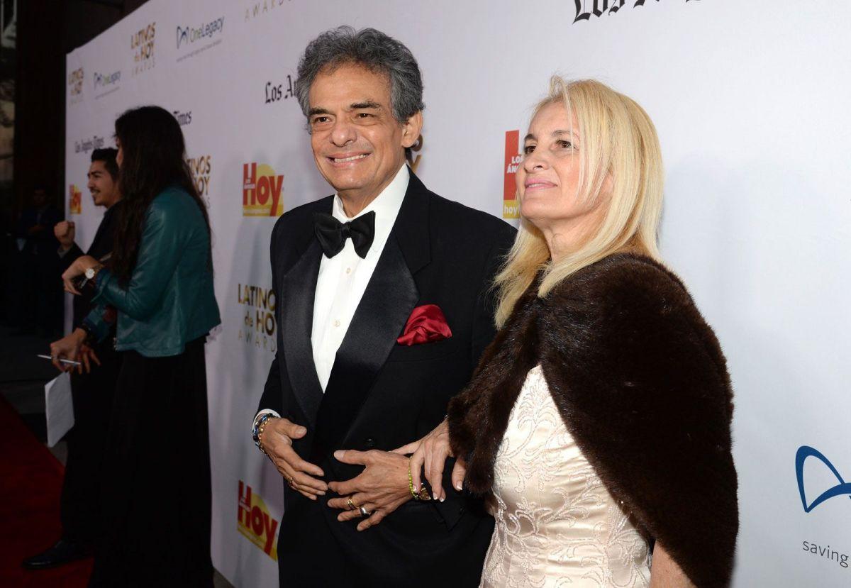 José José y su esposa Sarita.