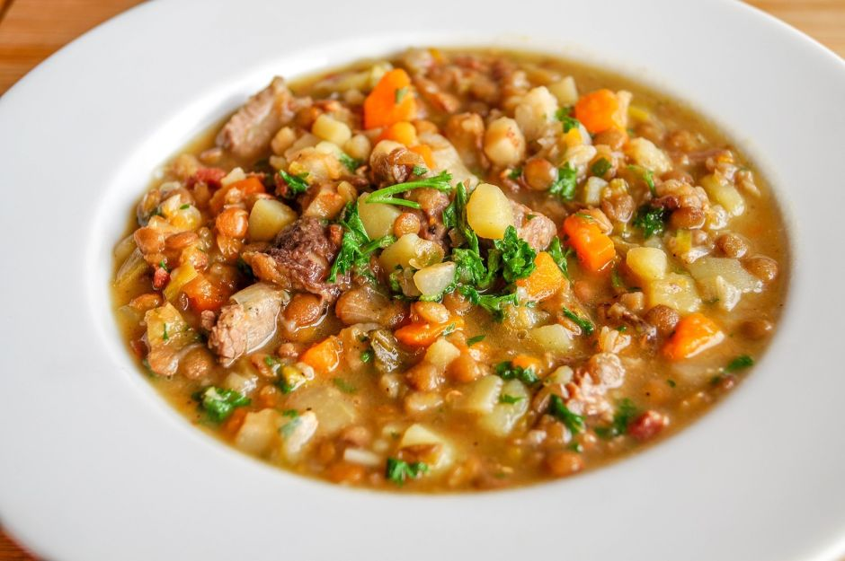 Vegetable and vegetable medicinal soup, the perfect remedy to increase immunity