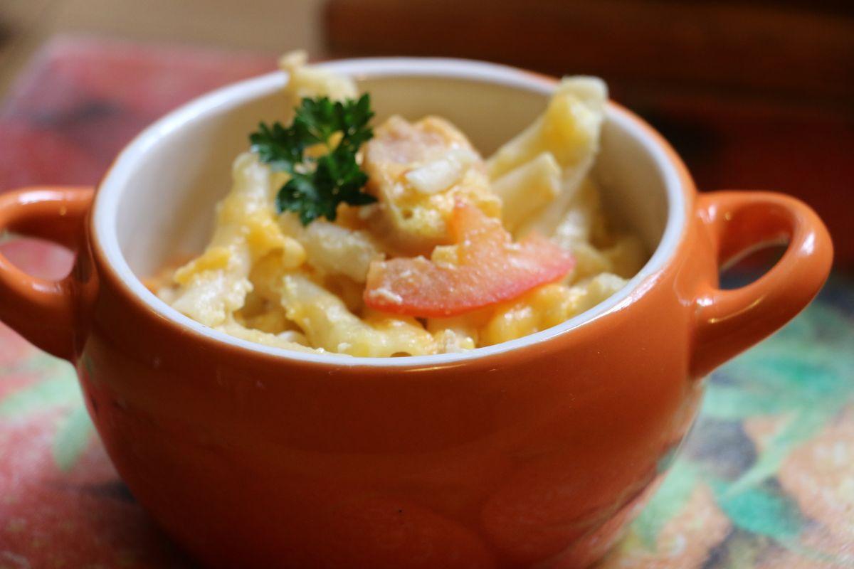 Prepara macarrones con queso ¡te dejarán solo 200 calorías!