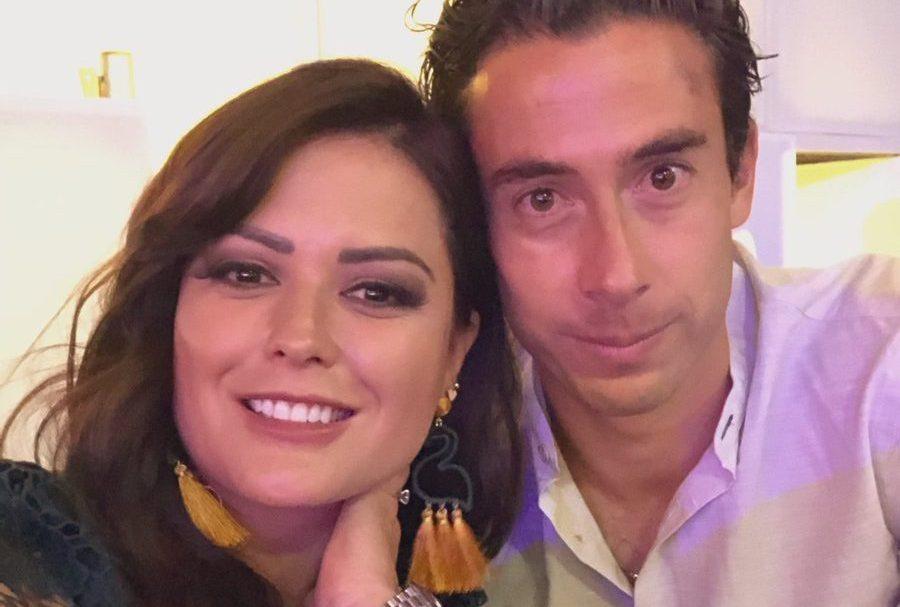 Boda azulcrema: portero de América Óscar Jiménez se casó con la actriz Mariana Echeverría