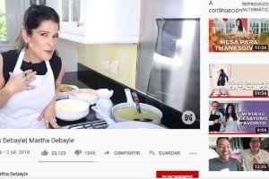 La controversial receta de chilaquiles de Martha Debayle