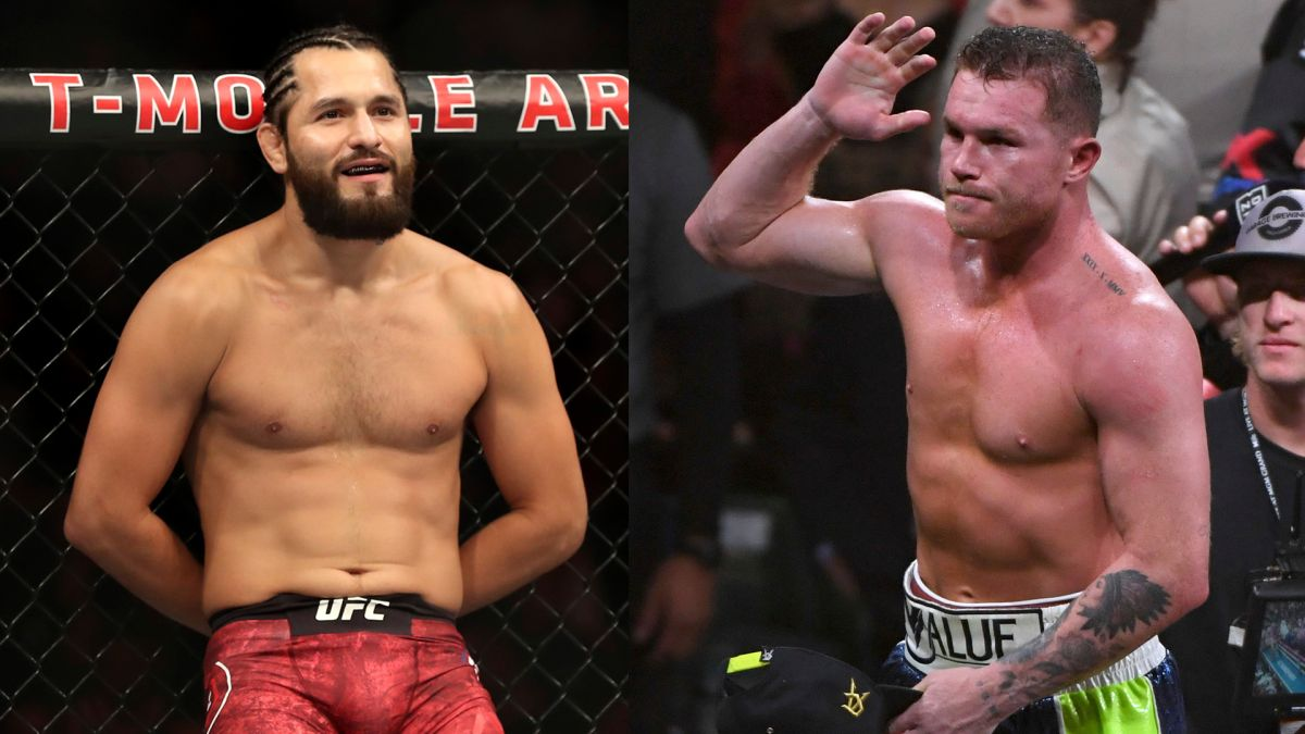 """¡De campeón a campeón! Jorge Masvidal de la UFC quiere """"partirle la cara"""" al """"Canelo"""" Álvarez"""
