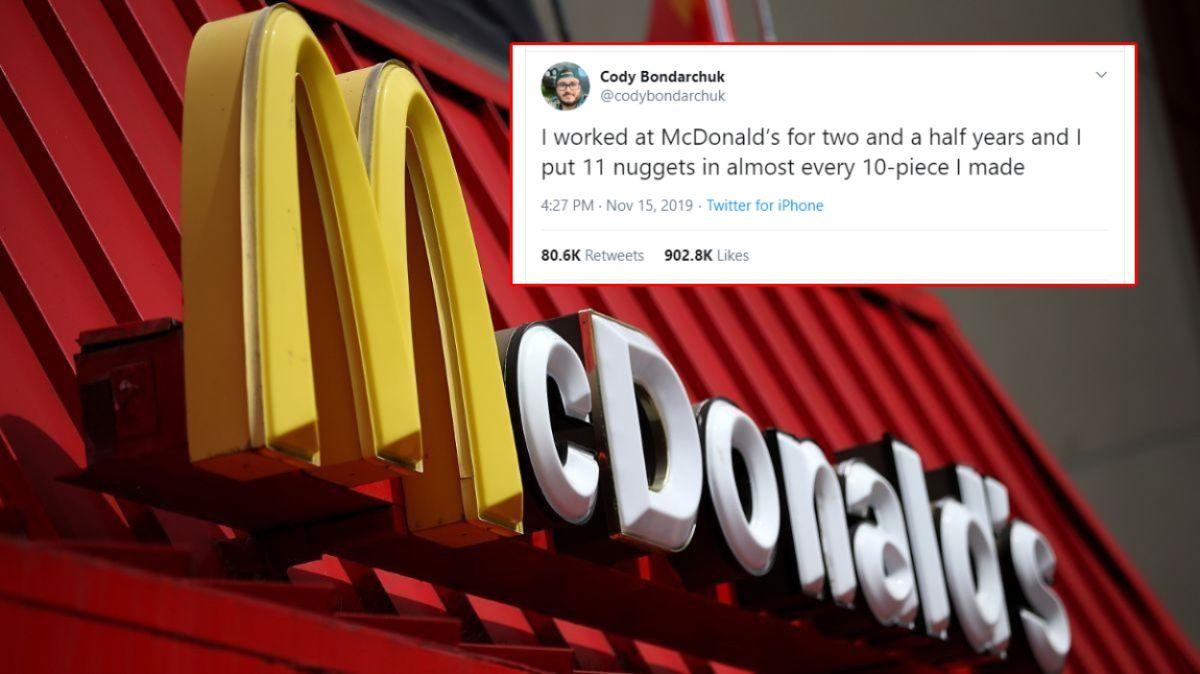 Ex trabajador de McDonald's es aclamado como héroe después de revelar su secreto