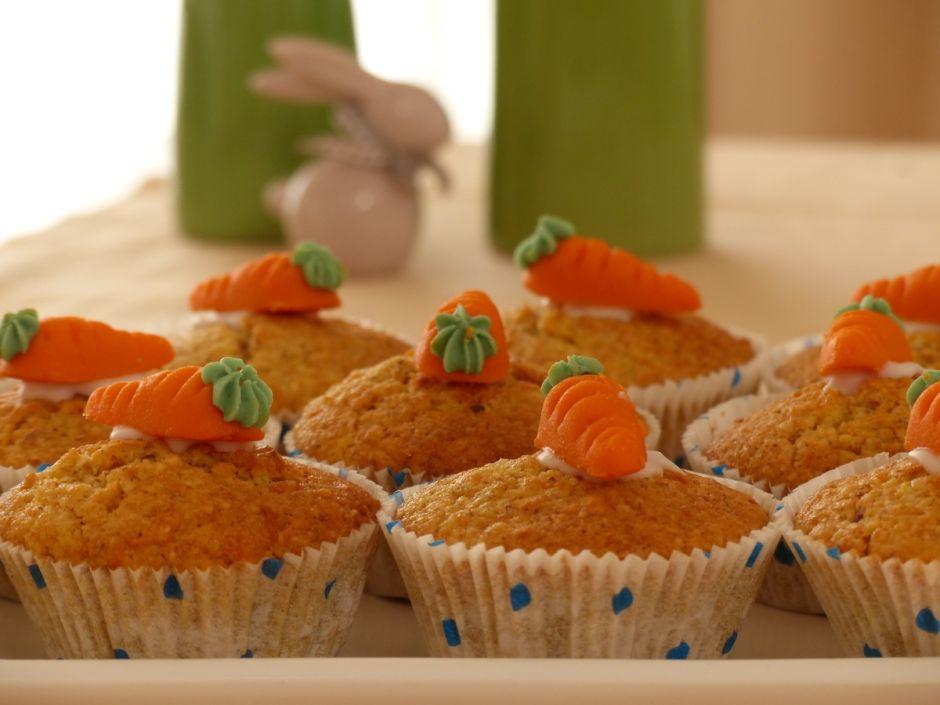 Antojo light: muffins de zanahoria y manzana
