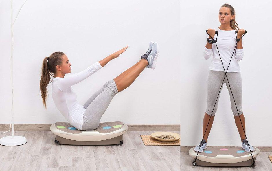 4 plataformas de vibración que te ayudarán a perder peso sin mucho esfuerzo