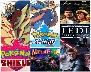 Reseña: Pokémon Sword and Shield, Star Wars Jedi: Fallen Order, Shenmue III y MediEvil