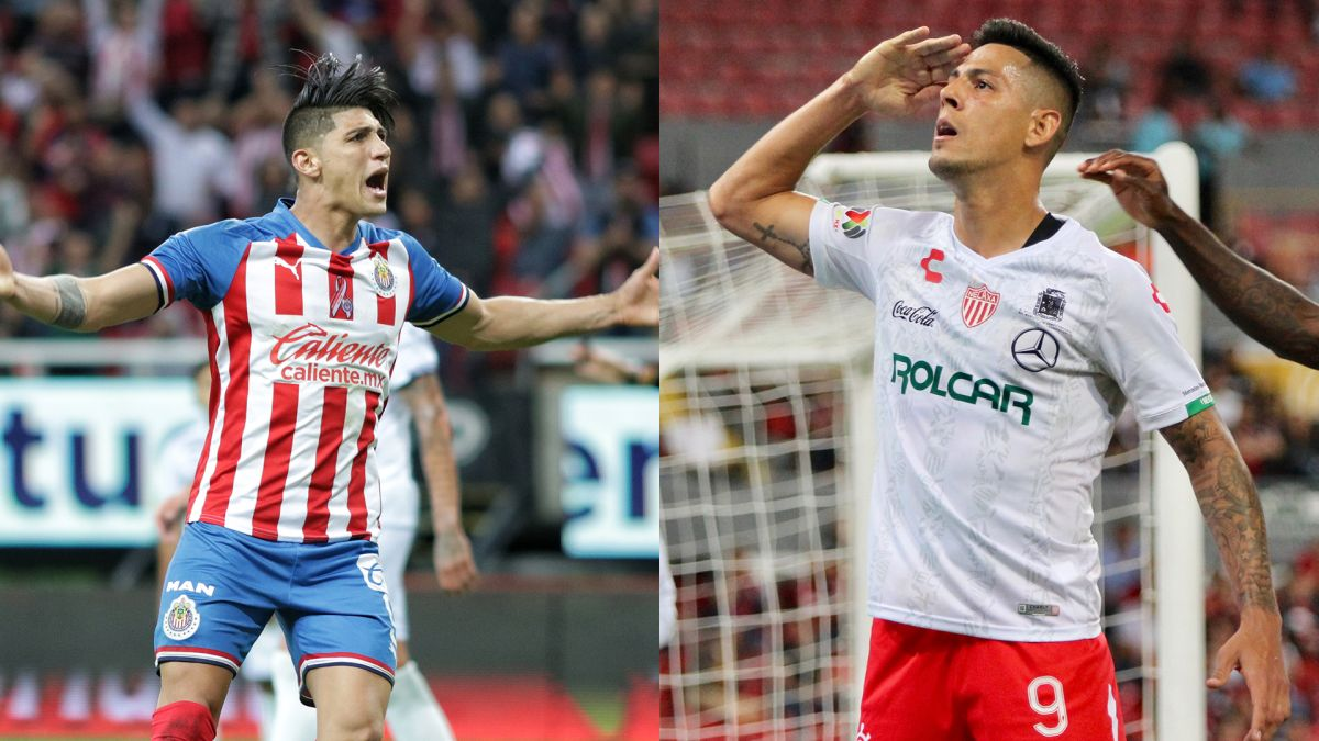 Pulido y Quiroga comparten el título de goleo de la Liga MX