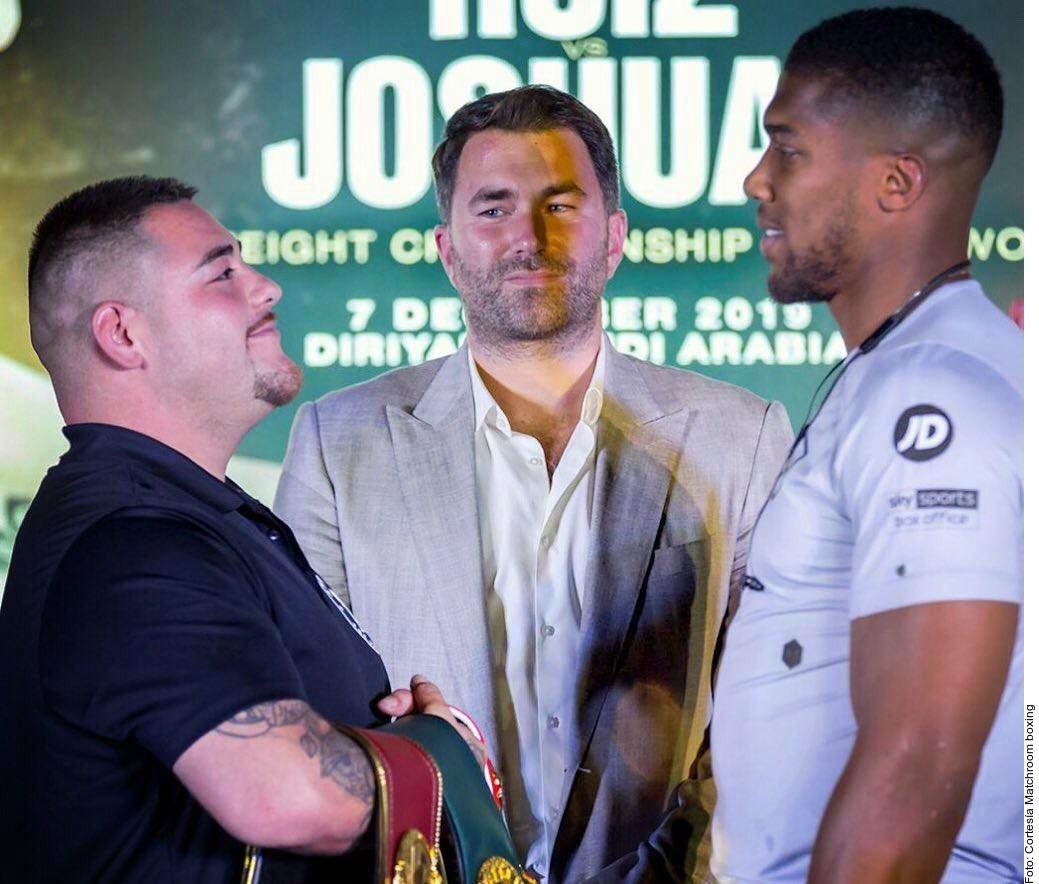 Anthony Joshua no cree que el campeón mexicano pueda derrotarlo dos veces.