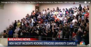 Manifiestos y ataques racistas suben la tensión en la Universidad de Syracuse