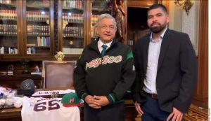'Mega fail' de AMLO al recibir a José Urquidy, pitcher de los Astros
