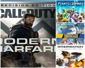 Reseña Call of Duty: Modern Warfare; Plants vs. Zombies; Overwatch; Digimon Story Cyber Sleuth