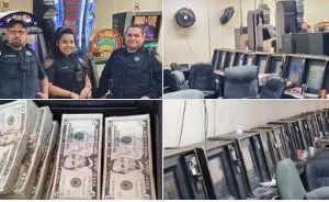 Texas: Policía recibe llamada de robo, pero al llegar descubren una ilegal sala de juegos