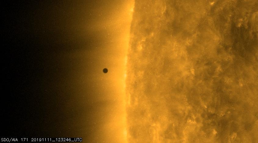 Mercurio acaba de pasar al sol por última vez hasta 2032. Mira las fotos y videos de NASA