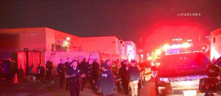 6 heridos por tiroteo en fiesta 'underground' en el centro de Los Ángeles