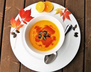 Recetas: las sopas saludables y cremosas de calabaza y zanahoria del Chef James
