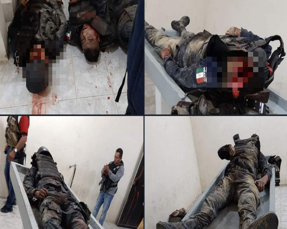 Tercera emboscada en una semana, ahora matan a 5 policías y AMLO no quiere enfrentar a narcos