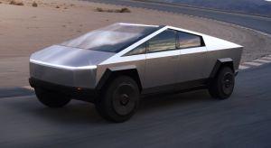 Así es como luciría la Tesla Cybertruck si fuera una pick-up táctica militar