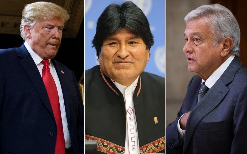 ¿Apoyo de AMLO a Evo Morales afectará su relación con Trump?