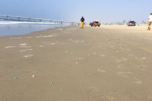 Imágenes: Alerta por la misteriosa aparición de agujas y desechos tóxicos en las orillas de playa de Venice