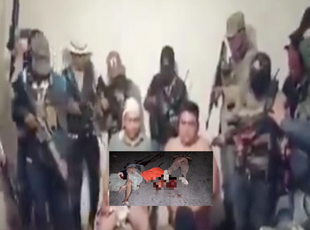 VIDEO: Los secuestran, interrogan y luego decapitan por ser de La Nueva Familia Michoacana