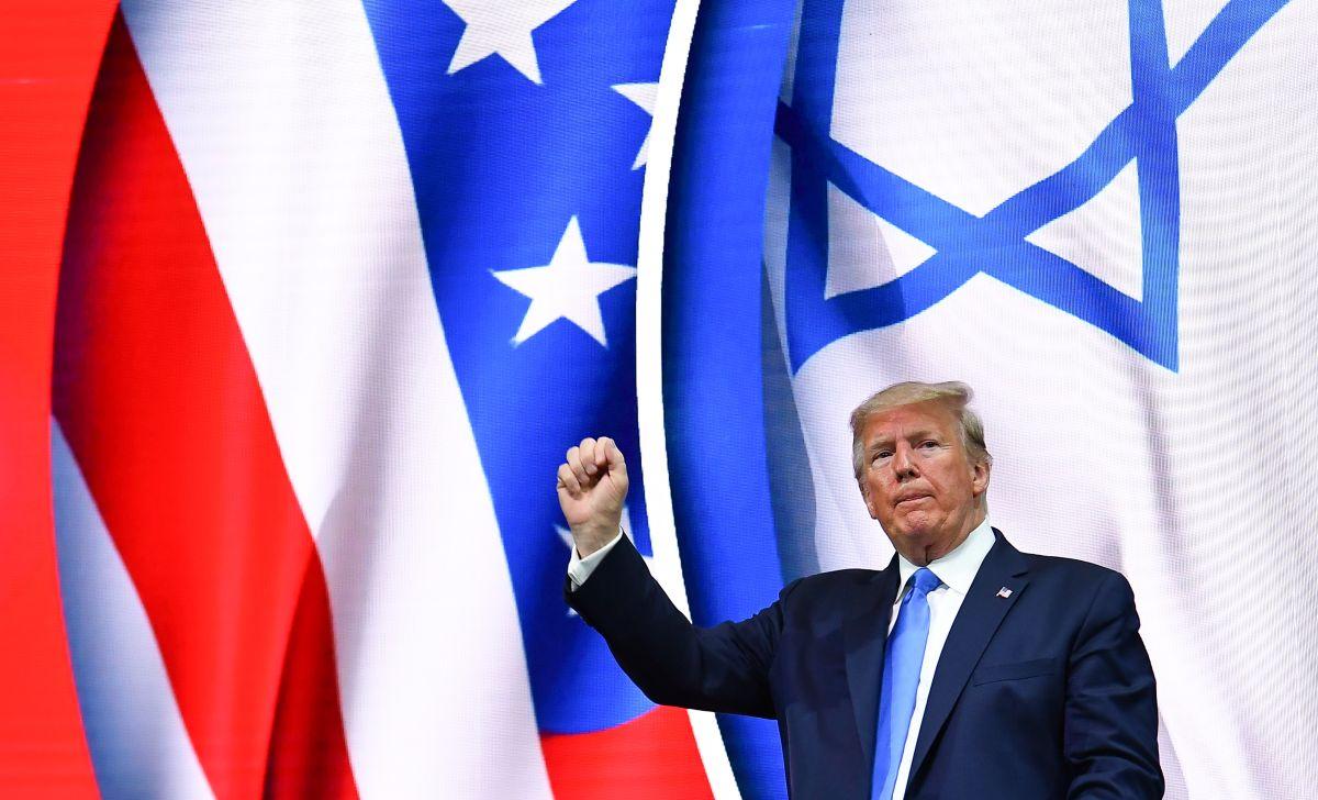Grupos judíos estadounidenses criticaron que Trump potenciaba estereotipos antisemitas.