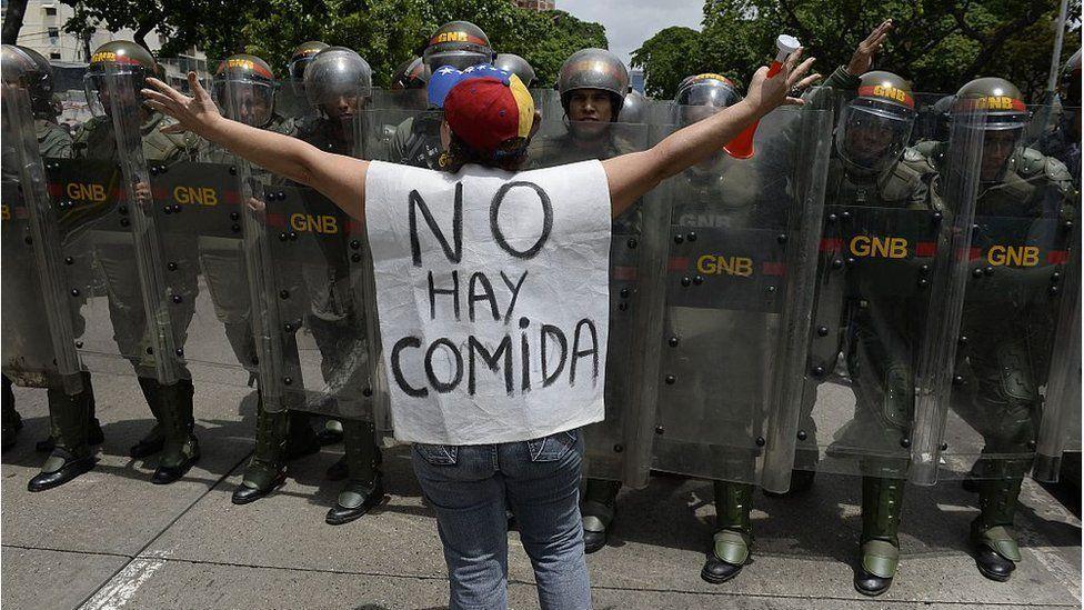 Desde hace años hay crisis en Venezuela