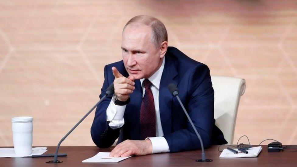La férrea defensa de Vladimir Putin a Donald Trump ante el juicio político