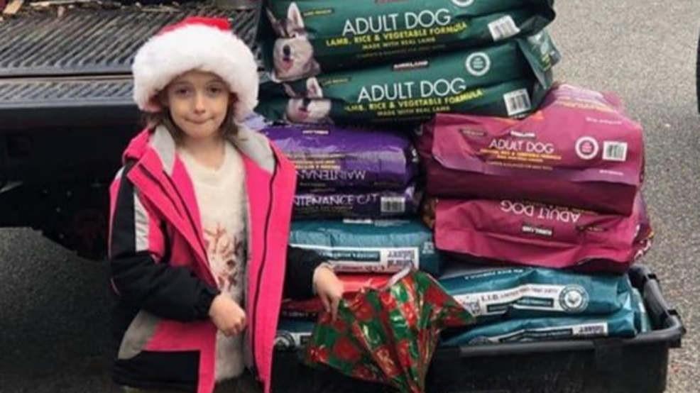 Niña rechazó recibir regalos por Navidad para hacer algo que conmovió al mundo