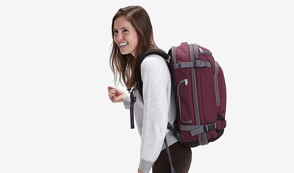 Ahorra hasta 58% de descuento en maletas, mochilas y equipaje de viaje solo hoy por el Cyber Monday