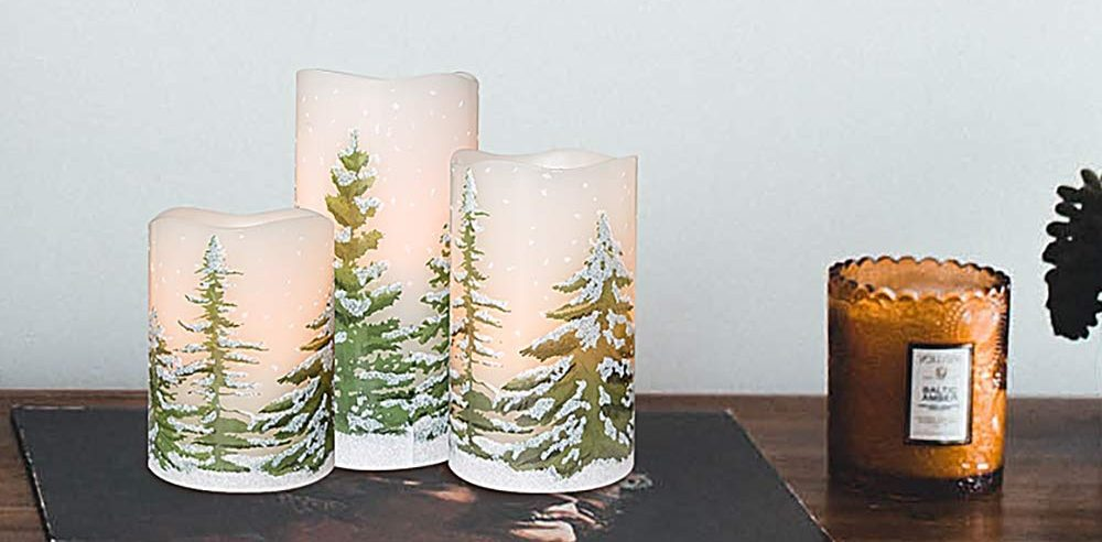 5 sets de velas LED para decorar tu hogar esta navidad