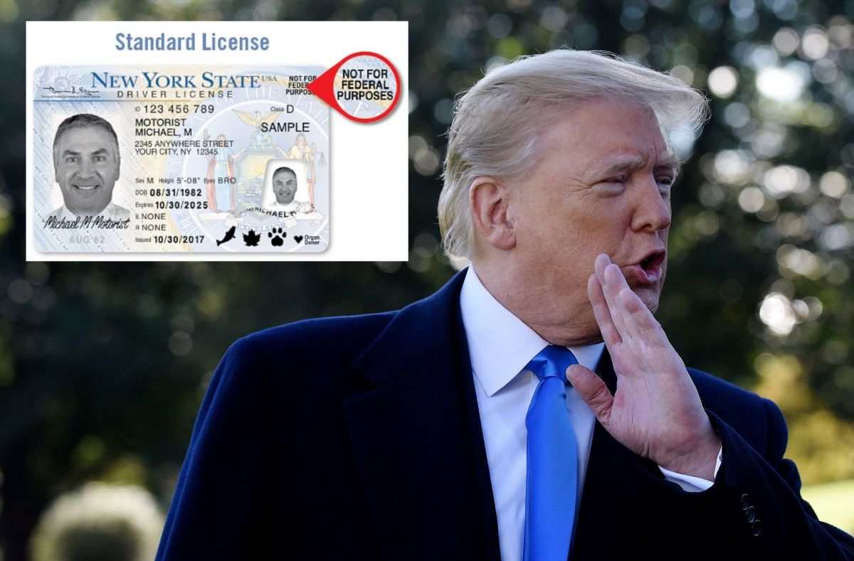La Administración Trump busca detener el otorgamiento de licencias a indocumentados.