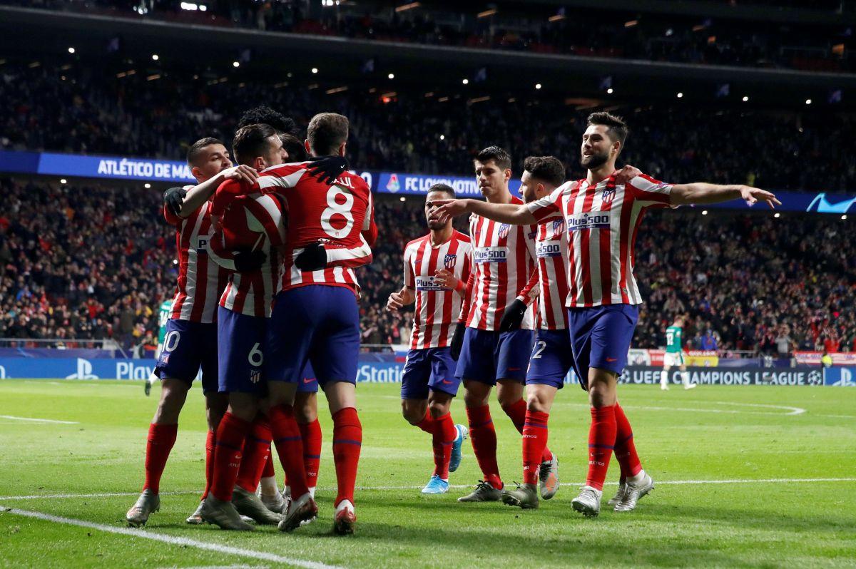 De cambio pero con gran partido, 'HH' y el Atlético a octavos de la Champions