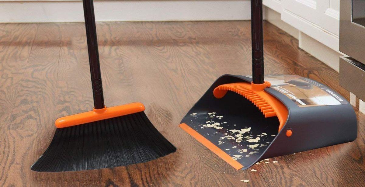 4 sets de escoba y recogedor para tener tu casa limpia en todo momento