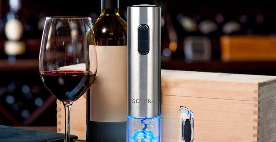 4 destapadores eléctricos para bolletas de vino por menos de $40