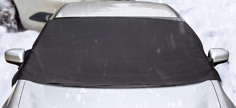 Protector para Parabrisas con Im/án Cubierta de Parabrisas Coche Protege de Rayos Antihielo Nieve UV Lluvia Funda Plegable Parabrisa Delantero FREESOO Protector de Parabrisas 150cm 105 cm