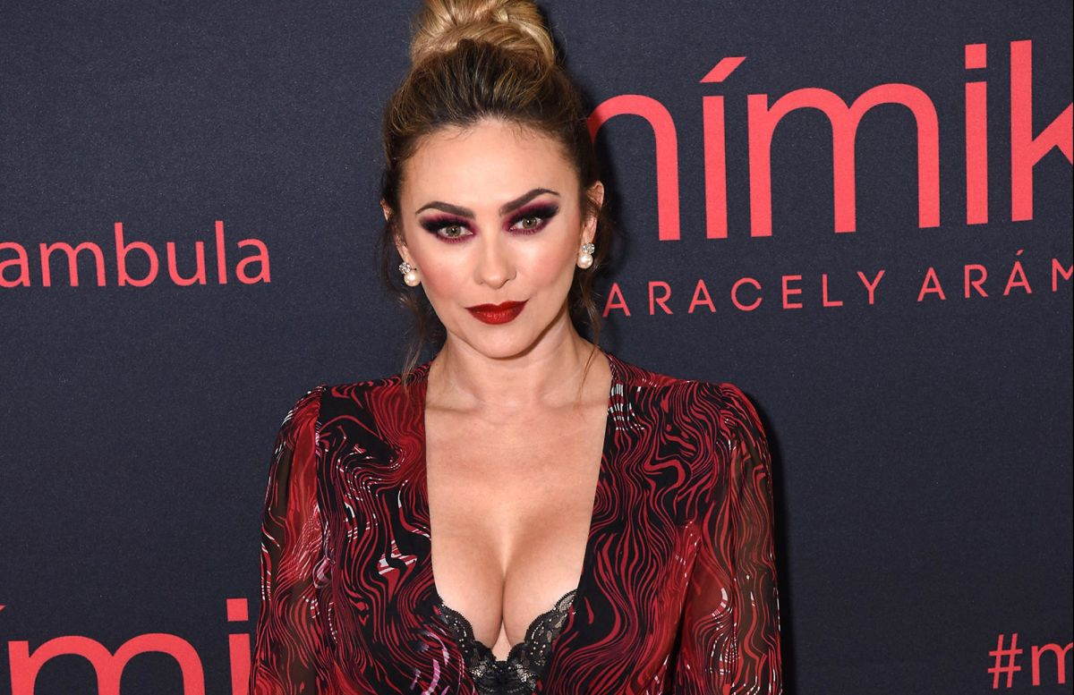 Aracely Arámbula enamora a sus seguidores de Instagram con un sensual baile en bikini