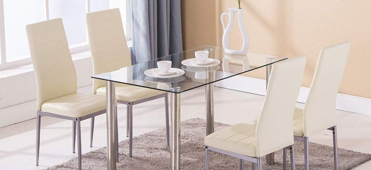 4 juegos de mesa y sillas para el comedor por menos de $200