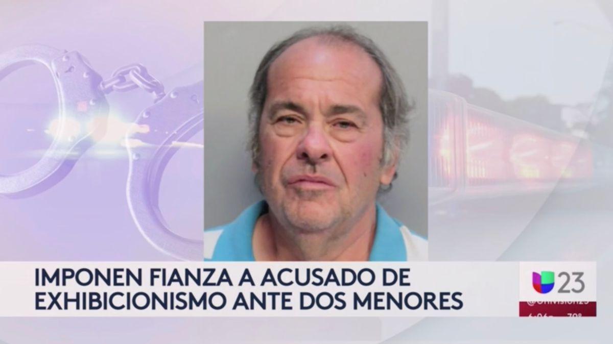 Arrestan a un hombre en Florida por enseñar sus partes íntimas a dos menores de edad