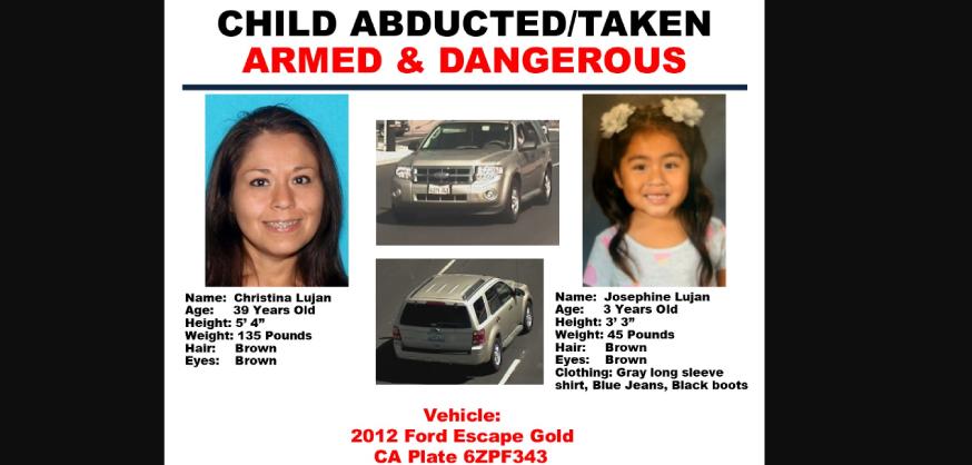 Hallaron a la niña de 3 años que era buscada con la Alerta Amber