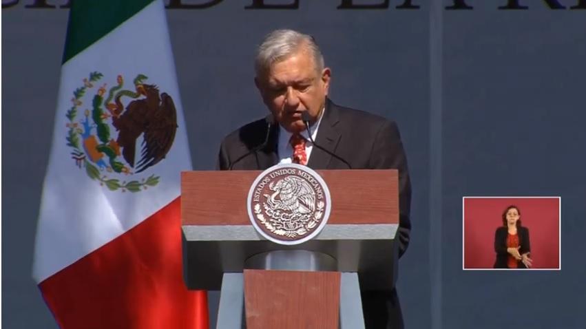 AMLO presume reformas durante su Primer año de Gobierno, celebra en el Zócalo