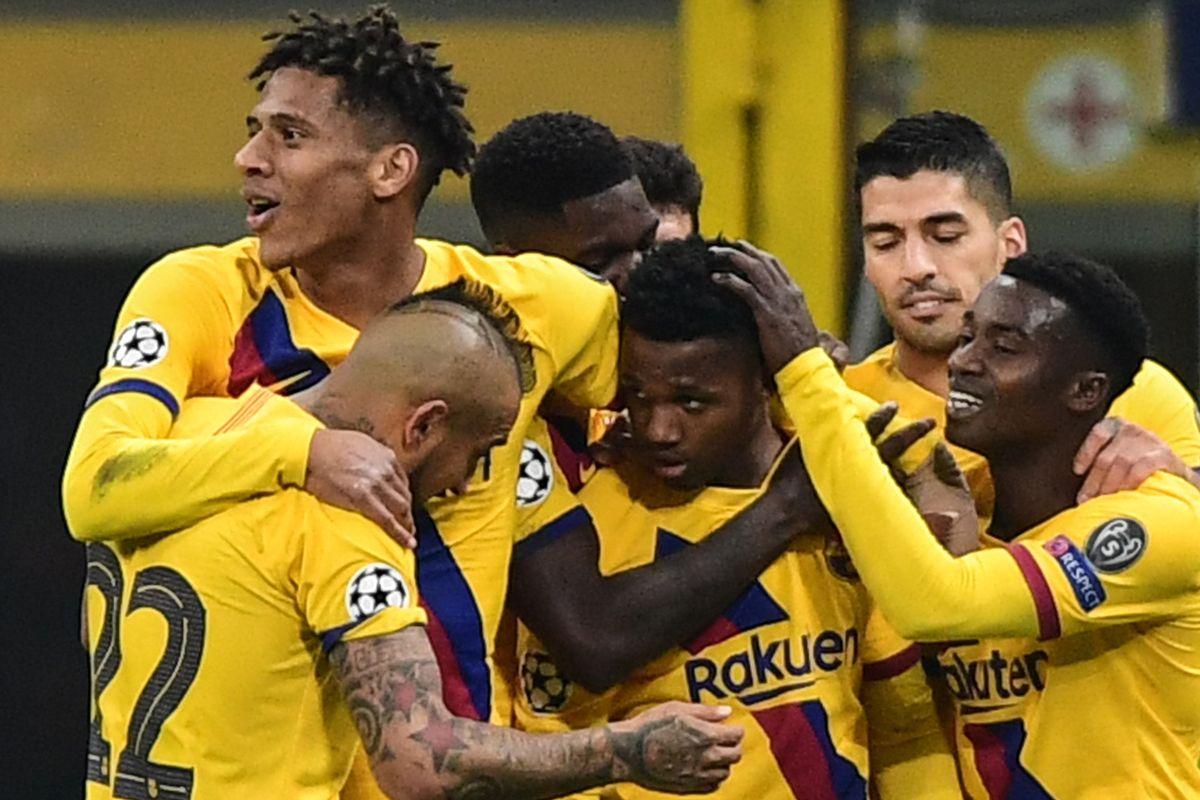 Ansu Fati, el 'niño asesino' del Barcelona que eliminó de Champions al Inter de Milán