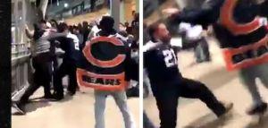 Video: Aficionados de los Cowboys ven perder a su equipo, y para rematar son golpeados en el estadio