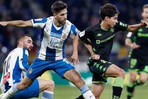 Lainez volvió a jugar con el Betis y le sacan el empate al Espanyol