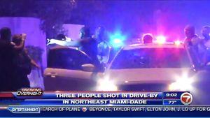 Tres heridos por un tiroteo en una autopista de Miami