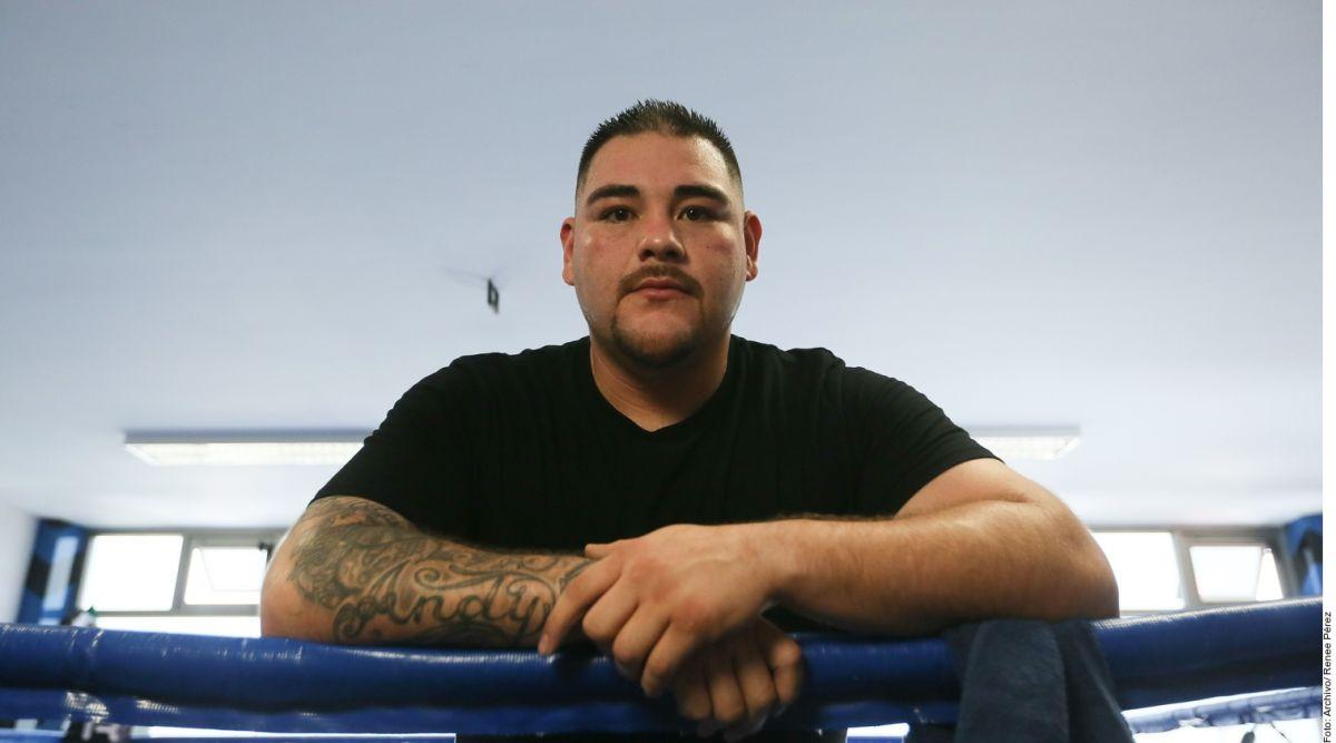 Ruiz mostró su tremenda transformación corporal ya que ha perdido 20 libras.