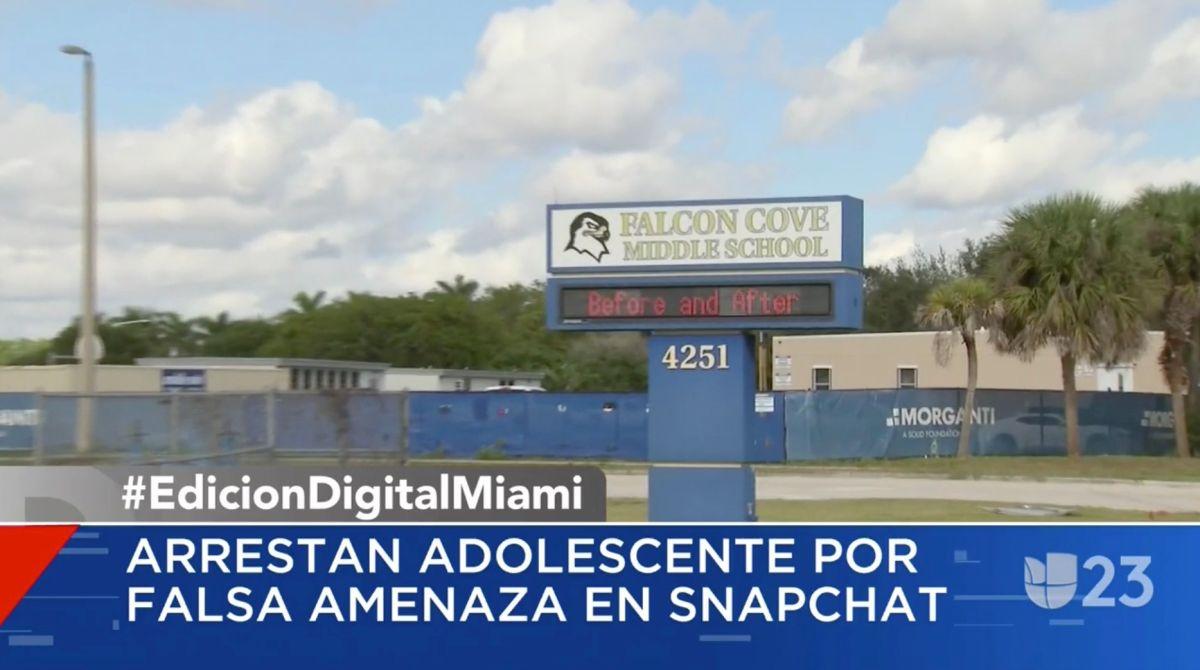 Detenida una niña de 12 años por realizar falsas amenazas en una escuela de Miami