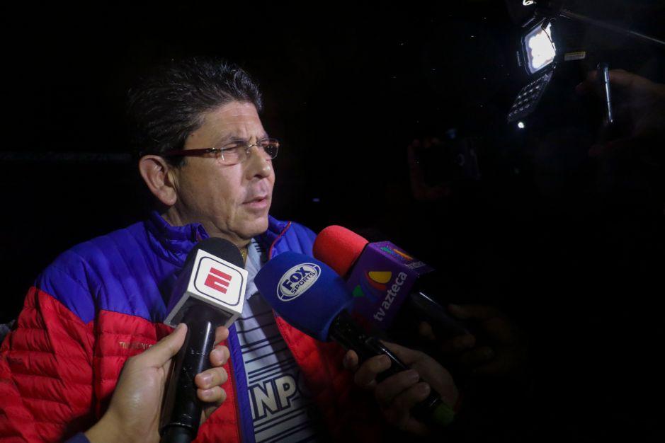 """""""Hago responsable a la Federación y a Televisa de cualquier daño que sufra"""": Fidel Kuri"""