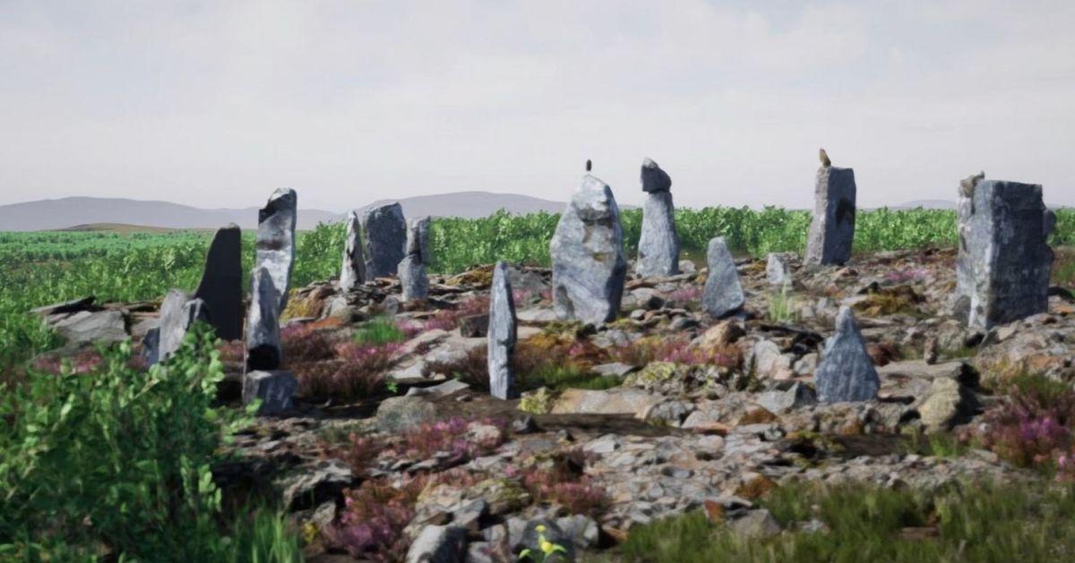 Cómo la caída de rayos se asocia con los misteriosos círculos de piedra milenarios en Escocia