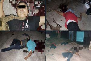 FOTOS: Así dejaron a 3 presuntos líderes del Cártel Guerreros Unidos